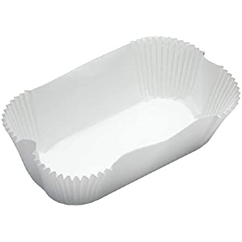 """KitchenCraft Non-Stick Paper 2lb Loaf Tin Liners, 20 x 9 cm (8"""" x 3.5"""") (Set of 40)"""