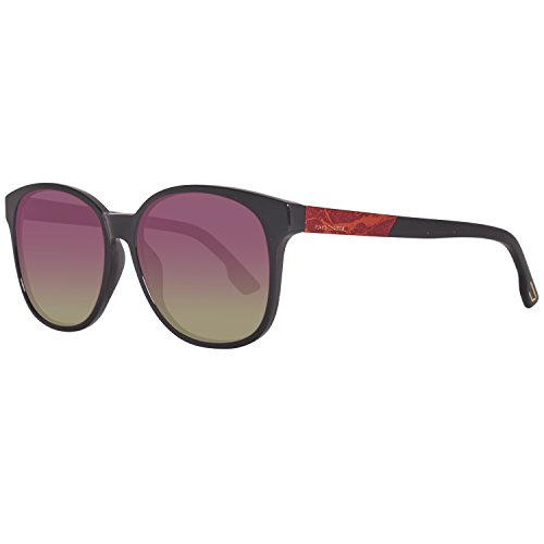 Diesel sonnenbrille dl0121 5801t occhiali da sole, nero (schwarz), 58 donna