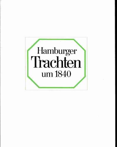 Hamburger Trachten um 1840