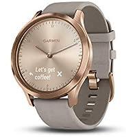 Garmin vivomove® HR Premium Damen-Smartwatch Roségold/Grau 010-01850-09