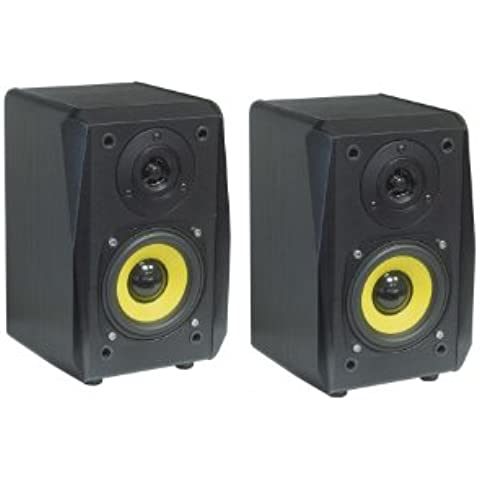Dynavox TG-1000B - Altavoces HiFi (50 W, 2 unidades), color negro