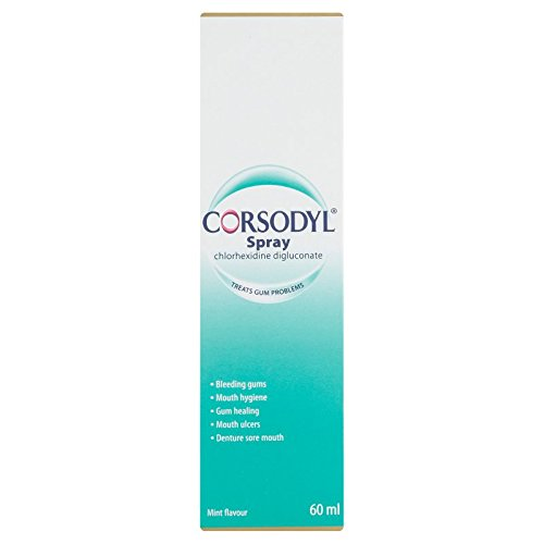 Corsodyl Spray Mint Flavour, 60 ml Test