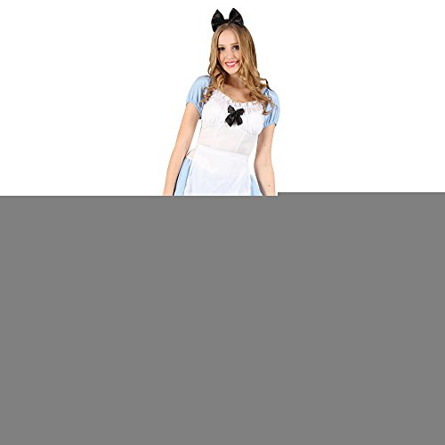 Ladies Adorable Alice Costume for Wonderland Fairytale Fancy (Erwachsene Für Kostüme Alice In Wonderland Dress Fancy)