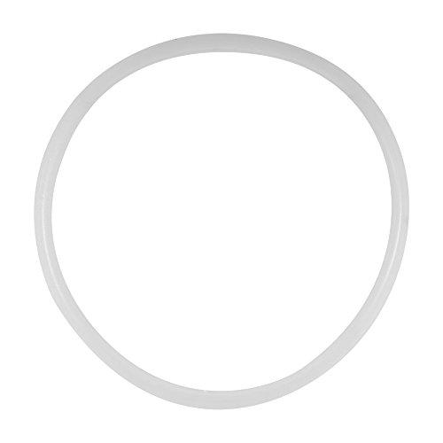Dichtungsring für Schnellkochtopf, 6 Größen, Silikon, transparent, 22 cm
