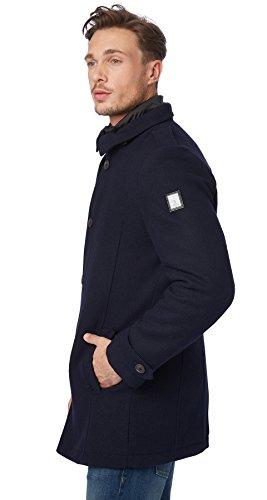 Herren Mantel Dunkelblau