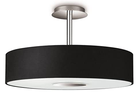 Philips InStyle Flora Ceiling Light Black (Includes 3 x 42 Watts E14 Bulb)