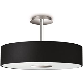 Philips hue white ambiance fair 39 w connect ready led ceiling philips instyle flora ceiling light black includes 3 x 42 watts e14 bulb aloadofball Choice Image