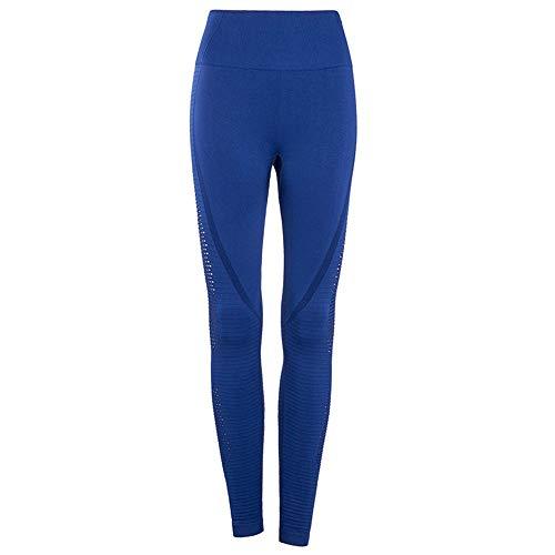 Royal Blue Womens Capris (Top Shishang Womens Yogahosen mit hoher Taille Sexy Power Stretch Volltonfarbe Workout Strumpfhosen Laufleggings,Royal Blue,M)