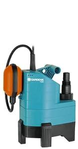mantenimiento de sumideros: Gardena 01795-20 Bomba 340 W, Negro, Azul, Naranja hasta 7000 l/h