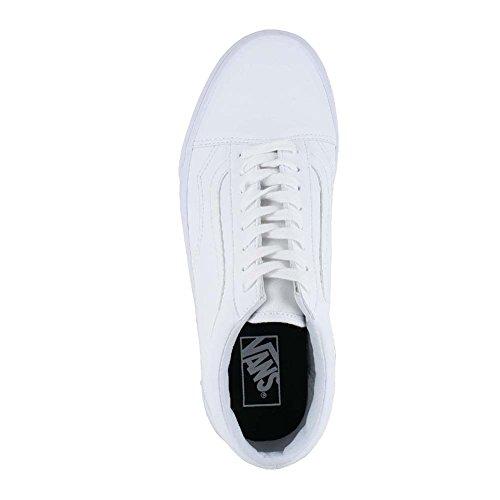 Vans Unisex Erwachsene Old Skool Sneaker Low-Tops Weiß (Classic Tumble)