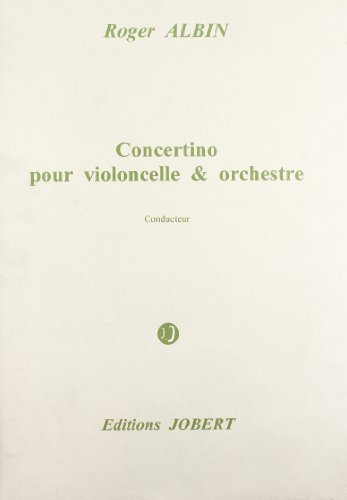 Concertino pour violoncelle et orchestre