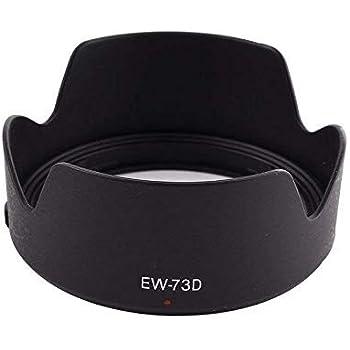 T-GO EW-73D Lens Hood for Canon EF-S 18-135mm f/3.5-5.6 is USM Lens