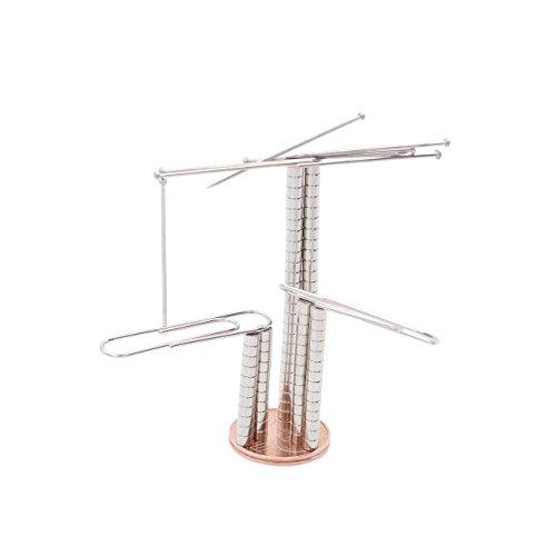 Brudazon | 100 Mini Scheiben-Magnete 3x2mm | N52 stärkste Stufe - Neodym-Magnete ultrastark | Power-Magnet für Modellbau, Foto, Whiteboard, Pinnwand, Kühlschrank, Basteln | Magnetscheibe extra stark