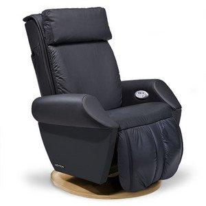 Massagesessel | Massagestuhl Leder schwarz Keyton Class - Top Angebot von welcon.de
