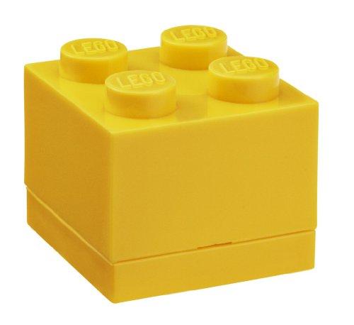 Légo 40110632 Mini Boite jaune Lot de 4