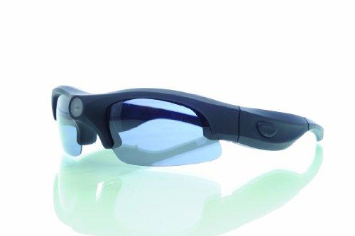 Rollei Sunglasses Cam 200 Actioncam Brille mit 5 Megapixel und Full HD – Schwarz - 2