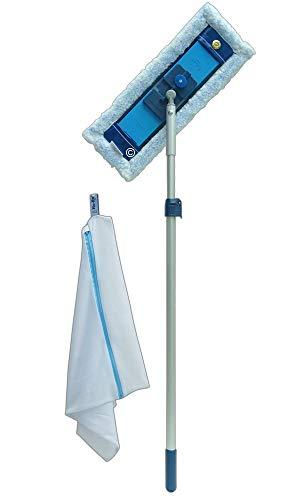 Ha-Ra Tele-Wisch-Set 4.0 | 4-teilig | Nano-Gold-Igel | Maximale Reinigungskraft, raue Flächen.