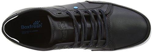 Boxfresh Sparko Leather, Chaussures à lacets hommes Noir (Black)