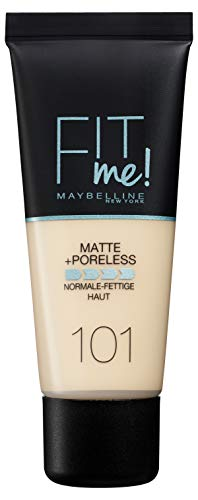 Maybelline Fit Me Mate Afinaporos tono 101 True Ivory