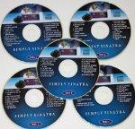 Einfach Sinatra Set Musik Maestro CDG Karaoke 5Disk Pack 80Frank Songs