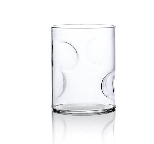 Ichendorf Milano Grog Set 6 Bicchieri Acqua, Vetro, Trasparente, 6 Pezzi