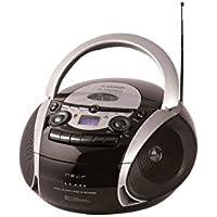 NEVIR RADIO CD CASSETTE CON USB COLOR NEGRO MODEL NVR-482UCM
