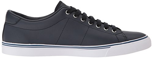 Fred Perry Underspin Hommes Baskets Navy