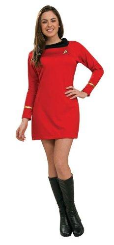 Classic Star Trek Kostüm - Kost-me f-r alle Gelegenheiten RU889061MD Star Trek Classic Red Kleid Medium