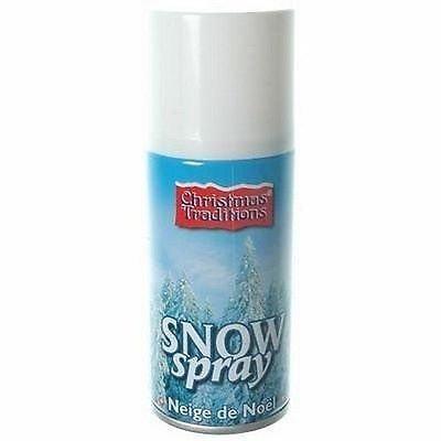 Guilty Gadgets Blanc Spray de Neige Artificielle de Noël Non Inflammable Flocons Blancs 150 ML