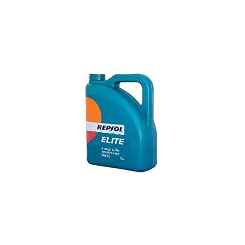 Repsol - Aceite lubricante para coche élite long life 50700/50400 5w30 5l