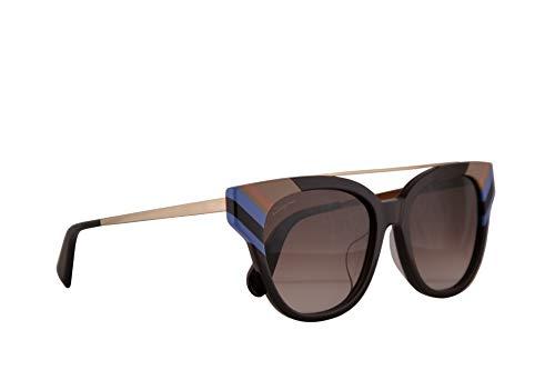 Salvatore ferragamo donne sf882sa occhiali da sole w/brown gradient lens 54 millimetri 606 sf 882sa vino grande