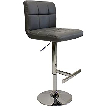Cool Lamboro Charcoal Allegro Bar Stool Amazon Co Uk Kitchen Home Pabps2019 Chair Design Images Pabps2019Com