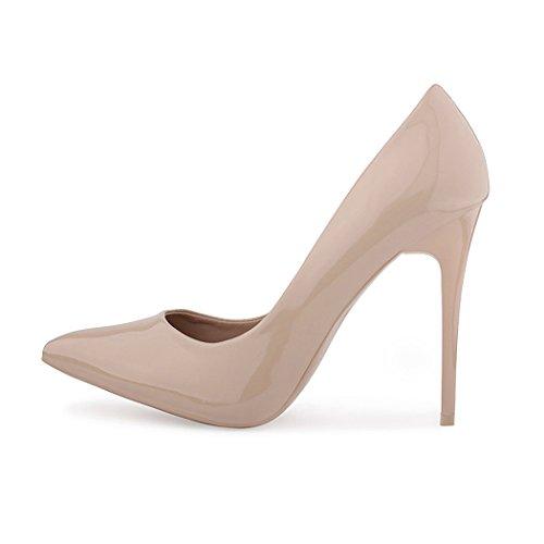 best-boots , Sandales pour femme Beige - Nude Lack