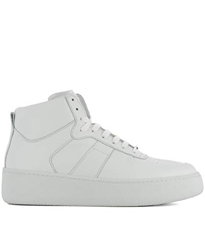 Maison Margiela Luxury Fashion Uomo S57WS0157SY0638101 Bianco Hi Top Sneakers | Stagione Outlet