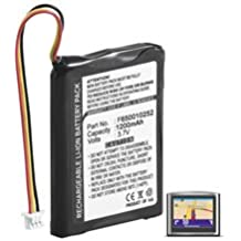 Batería de navegación GPS | para TomTom ONE, ONE Europe, ONE Regional, RIDER | 1200mAh | Lion