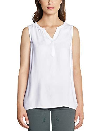 Cecil Damen 341543 Bluse, White, Medium (Herstellergröße:M)