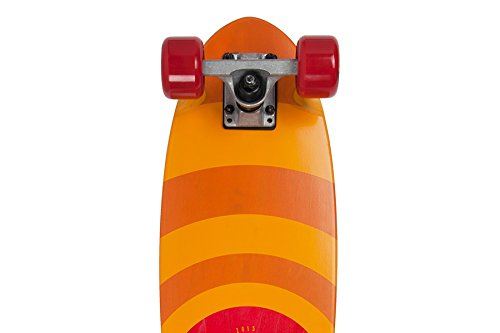 Area Longboard Orange, Rot, Pattern, Timber Orange-Tabelle voller Skaten (Pink)