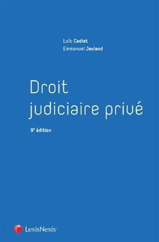 Droit judiciaire priv