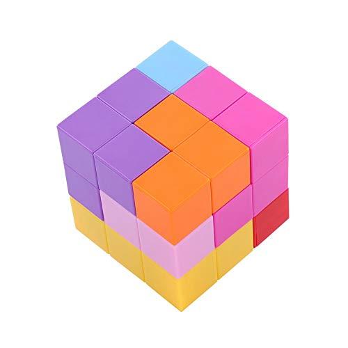 Dilwe Cubo Mágico, 3x3x3 Puzzle Cubo Magnético Twist