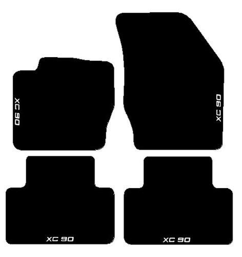 volvo-xc90-alfombras-para-coche-juego-completo-de-alfombrillas-sobre-tamano-de-moqueta-negro-con-bor