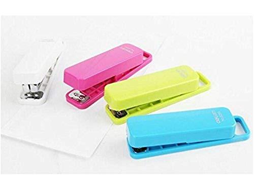 Payonr Portable Easy Reisefreundlich 1pc Mental Hefter Mini Heftklammer Portable Geschenk Heften Schreibwaren Büro Schulbedarf-Random