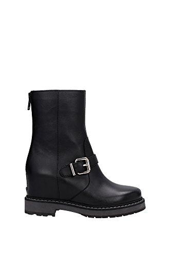 8T49743RUF0QU8 Fendi Chaussure mi montantes Femme Cuir Noir Noir