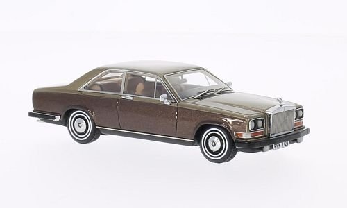rolls-royce-camargue-met-dark-brown-gold-1975-model-car-ready-made-neo-143-by-neo