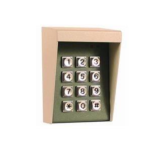 Preisvergleich Produktbild Tastatur Radio zu Codes 9V–1Code Meister–8Codes Sklaven–Gehäuse Metall