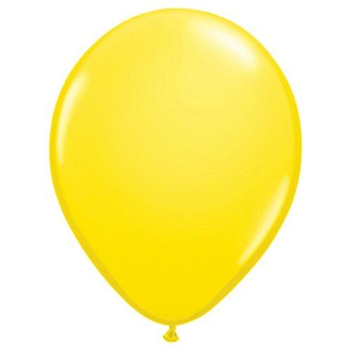 Qualatex palloncini di lattice, colore yellow, 43609