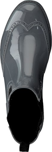 Gosch Shoes Sylt - Damen Chelsea Gummistiefel 7100-501 in 4 Farben Grey-Black