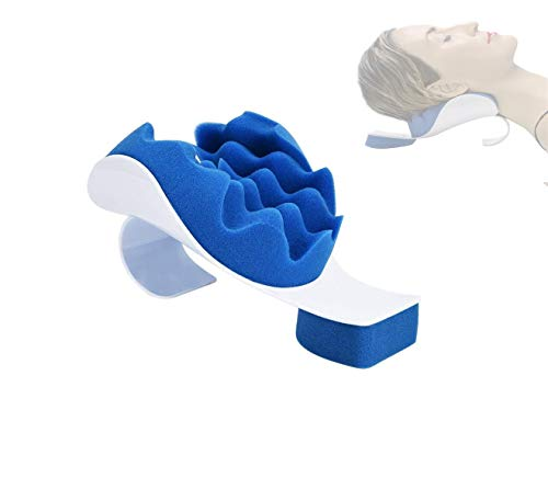 HuiCiHome Hals und Schulter Relaxer, Halsschmerzlinderung und Unterstützung Schulter Relaxer Massage Traction Pillow Pillow Chiropraktik