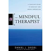 The Mindful Therapist: A Clinician's Guide to Mindsight and Neural Integration (Norton Series on Interpersonal Neurobiology) [Hardcover]