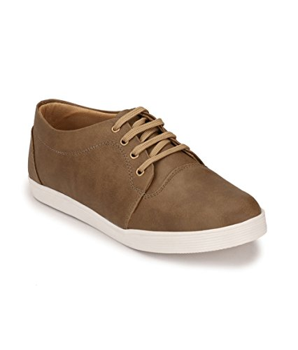 Peddeler Men's Beige Casual Shoes