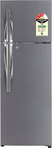 LG 284 L 3 Star Frost-Free Double-Door Refrigerator (GL-T302RDSU, Dazzle...
